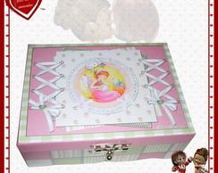 Caixa de costura patchwork Jeniffer