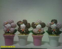 Vasinhos de ceramica Lembrancinha