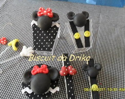 Copinho decorado Mickey e Minnie
