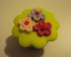 Mini cupcake florzinhas