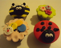 Mini cupcake pasta americana, jardim