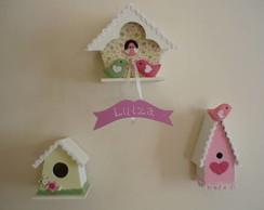 Casas de passarinho para decora��o