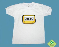 T-Shirt Beb� e Infantil K7 AMARELA