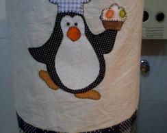 Capa de gal�o d'�gua Pinguim cozinheiro