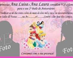 Convite Princesas - Para G�meas- 13AB64