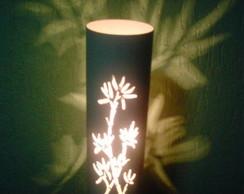Lumin�ria ramo de bambu