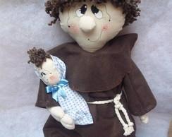 Santo Antonio de tecido