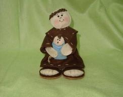 Boneco Santo Ant�nio  Mini ( Tamanho P)