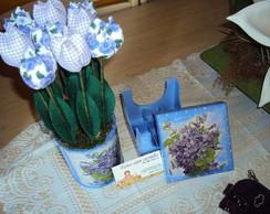 Kit namorada- floral lil�s