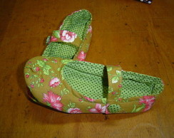 Room Shoes - Floral