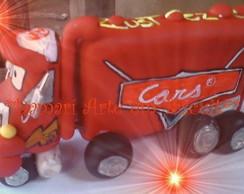TOPO DE BOLO CARROS  -  CARS