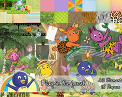 Kit Backyardigans - Play in the Forest