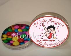 Latinha Ch� de Lingerie Betty Boop