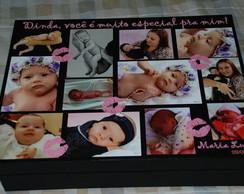 caixa grande Personalizada com fotos