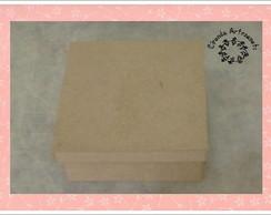 Caixa de MDF cru 15x15x5 - SENSACIONAL!