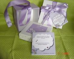 Caixa MDF - lembran�a de maternidade
