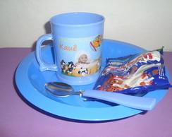 Lembran�a Infantil - Kit Caf� da Manh�