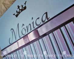 Convite 15 anos - Cole��o Royal - M�nica