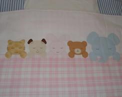 Cobertor de bichinhos -Pronta Entrega