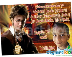 Convite Harry Potter 01
