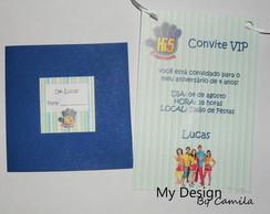 Convite Credencial Hi-5