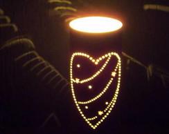 lumin�ria cora��o