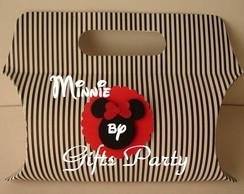 Sacolinha Minnie para Lembrancinha