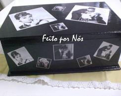 Porta J�ias Black Piano Vintage