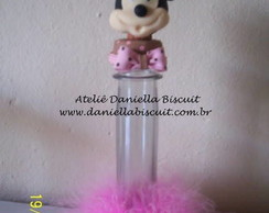 Tubete com base Minnie