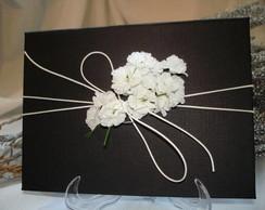 Convite Caixa Box Black White