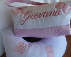 Almofada de amamenta��o + bolsa