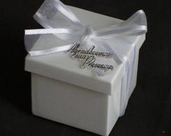 Caixa acr�lica decorada com plaquinha