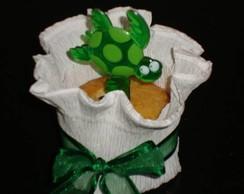 Lembrancinha Cupcake Fundo do Mar