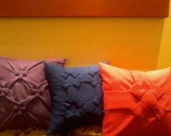 capas para almofadas em capitone