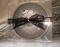 CD PERSONALIZADO - Lembrancinha
