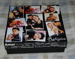 Caixa de Rel�gios personalizada com fotos