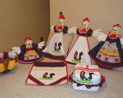 Kit galinha d'angola