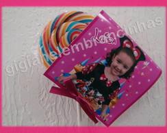 Pirulitos Personalizados com foto