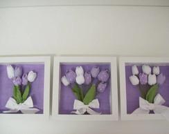 Quadrinhos de tulipas