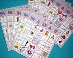 Bingo personalizado mam�e
