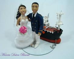 Casal de noivos estilo HUMANIZADO