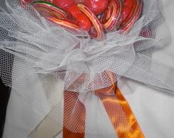 Buqu� de pirulitos para casamento