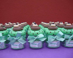 Mini Potinho personalizado - Ursinho