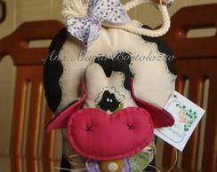 Vaca porta-rolo de cozinha
