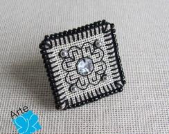 Anel quadrado BLACKWORK 3