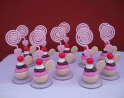 Porta-recados Cupcake - Waffles