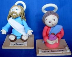 Casal (Maria e Jesus)