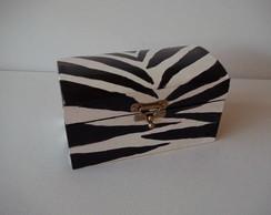 Ba� Zebra Preto e Branco