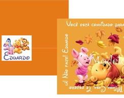 Convite Pooh Baby