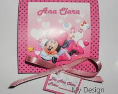 Convite Pirulito Minnie